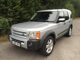 56 REG LAND ROVER DISCOVERY 3 2.7 TDV6 HSE AUTOMATIC 4X4 7 SEATER TURBO DIESEL