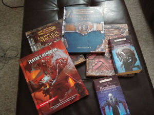 Looking for Dungeons and Dragons/Forgotten Realms books!