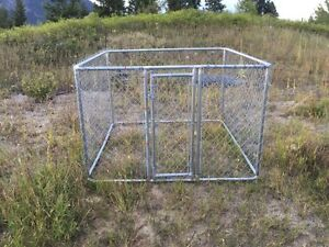 6' chain link kennel