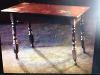 ANTIQUE TRADITIONAL STYLE SOLID TIMBER BAR TABLES