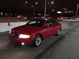 Audi A4 1.8T 5Speed Manual 2002, Second Owner