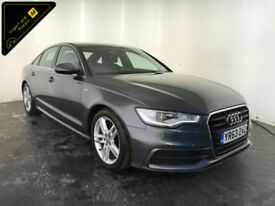 2013 63 AUDI A6 S LINE TDI DIESEL 4 DOOR SALOON 1 OWNER FROM NEW FINANCE PX