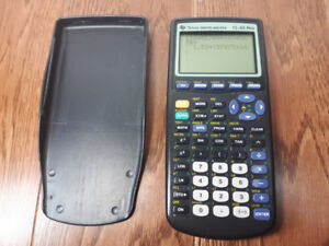 TI 83 Plus Graphing Calculator