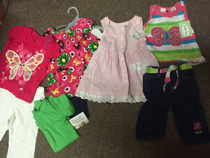 Girls 12-18 mth spring summer all new with tags $25 for 8 pieces