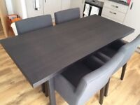 Big Dining Table IKEA Vastana Vastanby Brown