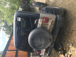 2001 Jeep for sale (motivated seller) serious inquiries only