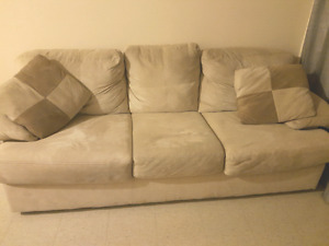 Sued couches!