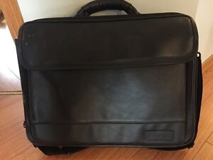 Leather Targus Computer case