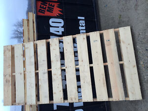 Skids 8'x4' Hardwood Kitchener / Waterloo Kitchener Area image 2