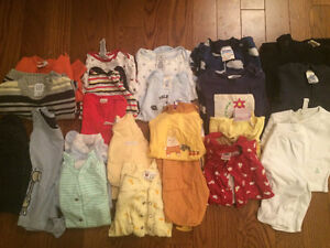 Boys Clothing Size 0-3 mos (Sold as a lot) London Ontario image 1