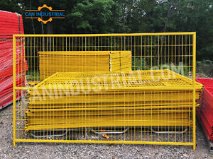 Temporary Fence Panels 6x10 - WINTER Sale On Now - Construction