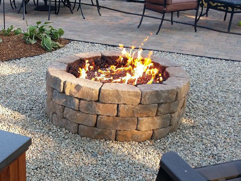 how to build a propane fire pit ebay. Black Bedroom Furniture Sets. Home Design Ideas