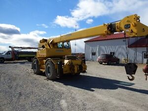 Used RT620S Grove Rough Terrain Crane Sarnia Sarnia Area image 5