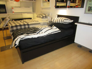 EXCELLENT CONDITION IKEA MALM DOUBLE BED