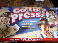 GO TO PRESS--A GRAMMAR GAME---NEW!!