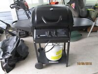 SAHARA RAPID ASSEMBLY 2 BURNER BBQ - NEVER BEEN USED