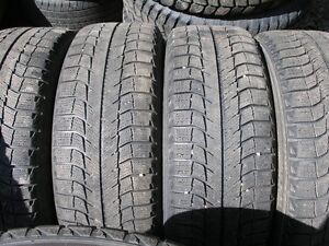 P225/60R16 Michelin X-Ice on Toyota Camry Rims