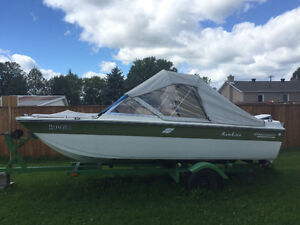 Boat, motor and trailer package.