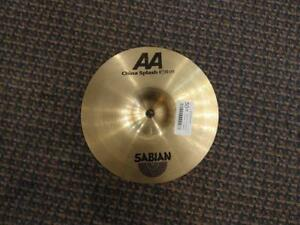 "Cymbale Sabian AA China Splash 8""  usagée-used"