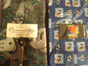 4 Novelty Ties - 3 Micky Mouse & 101 Dalmatian Neck Ties Peterborough Peterborough Area image 4
