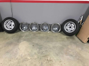 Chevelle, el Camino rallye wheels, tires, trim