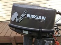 9.8   H.P.  NISSAN OUTBOARD SHORT SHAFT.
