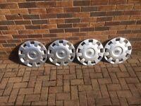 Vauxhall wheel trims fantastic condition 15inch
