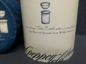 Collectible Antique Condiment/Dip Chiller Made by Wildly Delicio London Ontario image 2