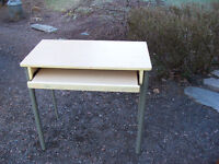 Small Computer Desk With Keyboard Shelf