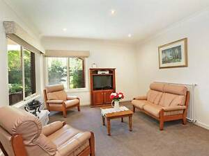 Leather Suite/Blackwood Trim- REASONABLE OFFERS CONSIDERED Grovedale Geelong City Preview