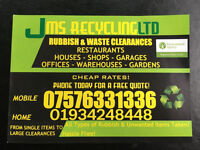 Waste & Rubbish Removals in W-s-m and surrounding areas.