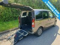 2016 Peugeot Partner Tepee 5 Seat Petrol Wheelchair accessible Disabled Access M