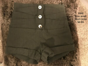 Women's name brand shorts, capris, and pants