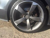 "Genuine 20"" alloy wheel for Audi A4, A5, A6,A7"