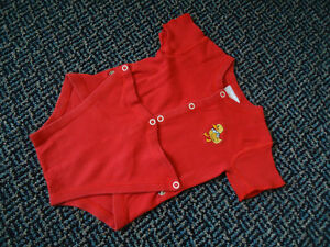 Baby Size 6 Months Red Duck Onesie Kingston Kingston Area image 1