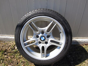 "BMW 17"" Alloy Wheels with brand new Potenza tires (225/45R17)"