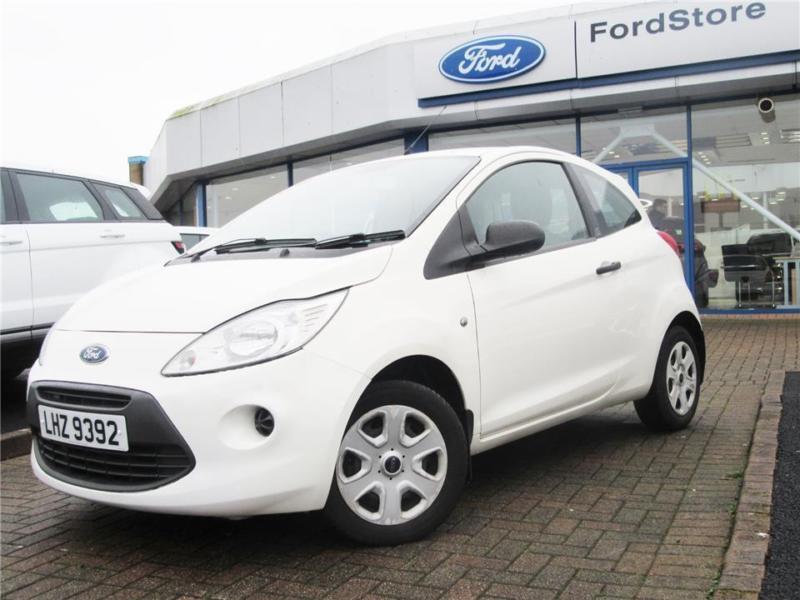 Ford Ka  L Zetec New Model Petrol White Manual
