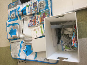 Wii and wii fit multiple games
