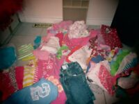 Girls clothes 24mos +