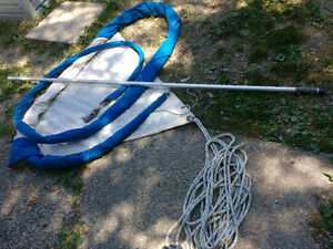 Mast/Boom/Whisker Pole and brand new Sails Windsor Region Ontario image 8