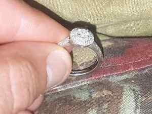 14k Canadian Diamond Engagement Ring Regina Regina Area image 5