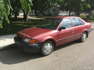 1997 Toyota Tercel (Manual Transmission)