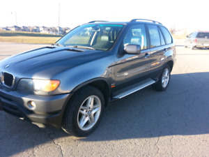 2003 BMW X5 4X4 SUV, PREMIUM PACKAGE EXCELLENT CONDITION