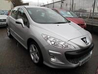 "2009 59 Peugeot 308 1.6 VTi ( 120bhp ) Sport 5 Door 82K 1FK 17"" Alloys"