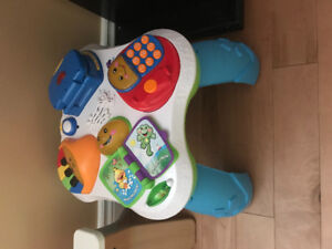 7b42ea25d18 Fisher Price Laugh and Learn Activity Table