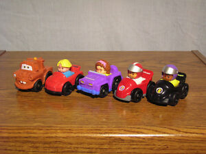 Petites voitures Fisher-Price Wheelies small cars