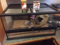 ExoTerra Front opening Reptile tank
