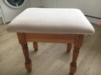 Dressing Table/lounge stool
