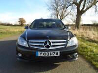 2010/10 MERCEDES-BENZ C CLASS 3.0 C350 CDI BLUEEFFICIENCY SPORT 4DR - LOW MILES!