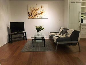 Furnished new 1bedroom+den/2bedroom @Bay/St.Mary nearby UofT